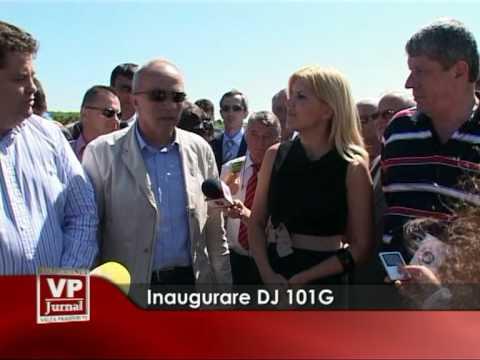 Inaugurarea Drumului Județean 101G