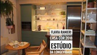 Flavia Ranieri– Casa Cor 2018 – Estúdio da Longevidade