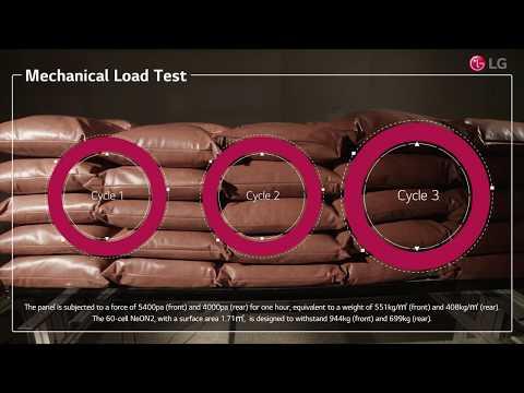 Module LG 365Wc 60c Mono Fond blanc Cadre noir Garantie 25ans et 90,1% à 25ans