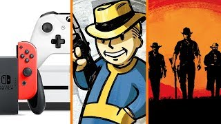 Xbox & Nintendo vs PlayStation + Westworld STOLE From Fallout? + Red Dead Redemption 2 on PC!?
