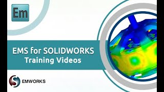 Simulation of a bar magnet in EMS for SOLIDWORKS