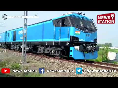 Indian Railways set its most powerful 12000 HP Locomotive on track for Long-Haul Freight Trains