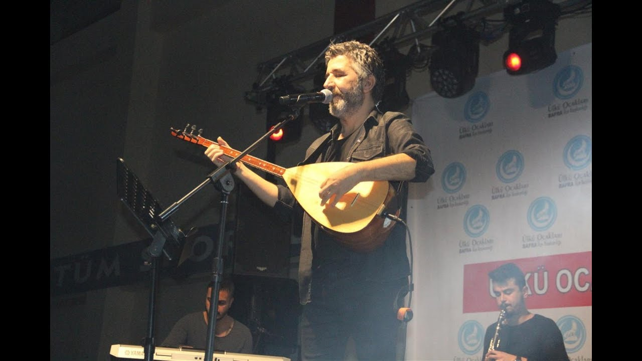 Bafra Ülkü Ocaklarından Muhteşem Ali Kınık Konseri