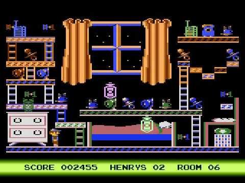 Atari 800 XL - Henry's house - Playthrough