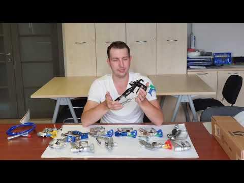 Обзор распылительных пистолетов Graco для строительного рынка от ТЕХНОБАЛТСНАБ