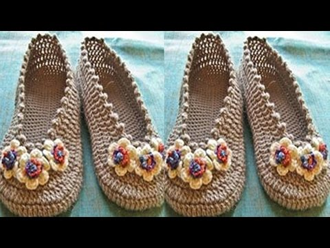 b8ce2e945 ZAPATOS TEJIDOS A CROCHET EN VARIADO PUNTOS Y MODELOS PARA DAMAS - Crochet  Back Scrubbie
