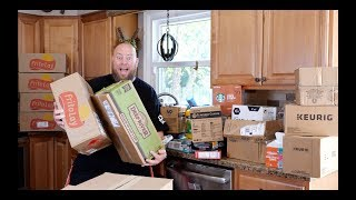 I bought 400 Pounds of Grocery Amazon Customer Returns & Watch the MASSIVE Pallet Unboxing