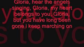 Gregorian- Gloria,  lyrics