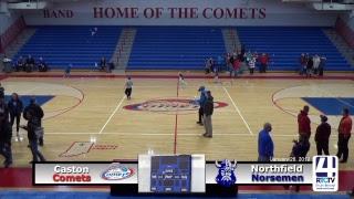 Caston Varsity Boys Basketball vs Northfield