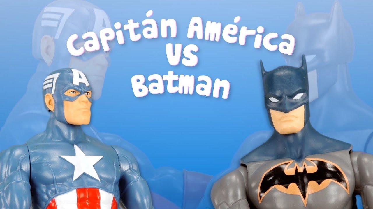 Capitán América vs Batman | Los Vengadores en la batalla final
