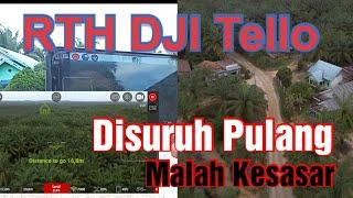 DJI Ryze Tello || Mencoba Fitur RTH DJI Tello Menggunakan Aplikasi Tello FPV