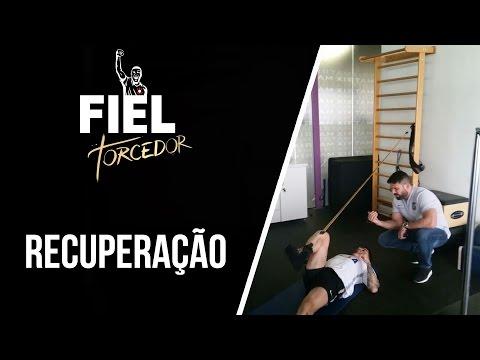Recupera��o e trabalho: Bruno Henrique fazem treino de recupera��o