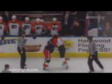 Sean Avery vs. Mike Richards
