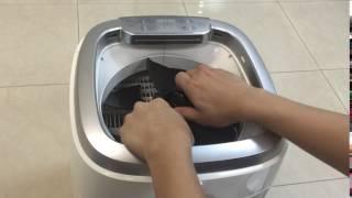 Winix AW600 水濾空氣淨化機之簡易風扇 如何安裝及拆卸 (Easy Fan)