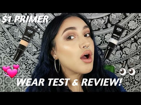 AOA WONDER SKIN PRIMER REVIEW & WEAR TEST | Crystal Medina