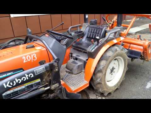 KUBOTA GB160 WITH FRONT LOADER, GOOD TRACTOR!