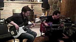 Alex Lifeson In The Studio w/ David Barrett Trio Part 2