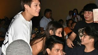 wow! LizQuen simple kilig moments sa finale viewing ng Bagani