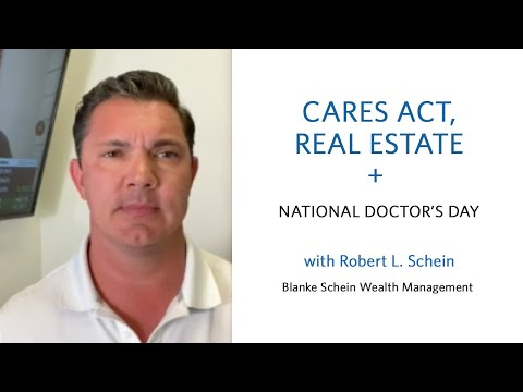CARES ACT - commentary by Robert L. Schein