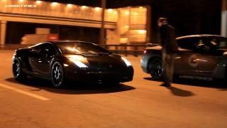 Lamborghini Gallardo Nera vs Nissan GT-R AMS Alpha 12