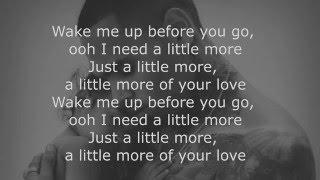 Chris Brown: Little More (Royalty) Lyrics