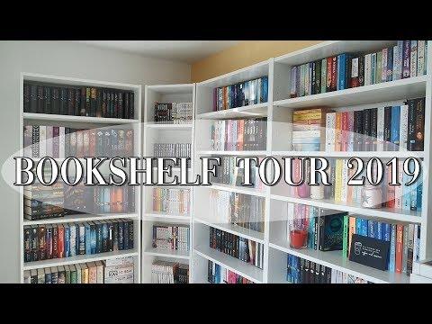 MEINE BÜCHERREGALE ♡ l Bookshelf Tour 2019 l Part 1/4