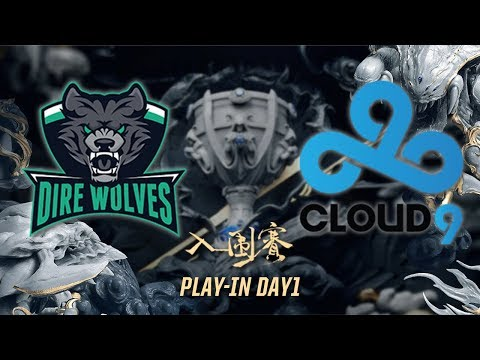 【2017世界大賽入圍賽-DAY1】DW vs C9 Highlights