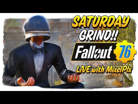Saturday GRIND VARIETY!! - Leveling the Alts + Black Ops 4 Later - Fallout 76 LIVE