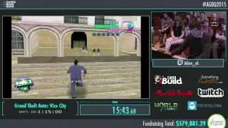 Awesome Games Done Quick 2015 - Part 142 - Grand Theft Auto: Vice City by AdamAK