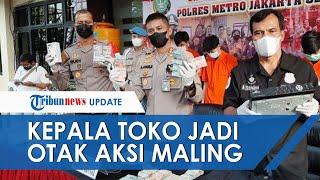 Kepala Toko Dalangi Aksi Pencurian Minimarket di Pancoran, Gasak Rp87 Juta & Rokok Senilai Rp7 Juta
