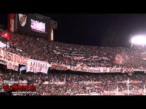 """""""Gol + """"Por ese amor yo te aliento de la cuna hasta el cajón"""" - River vs Instituto"""" Barra: Los Borrachos del Tablón • Club: River Plate • País: Argentina"""