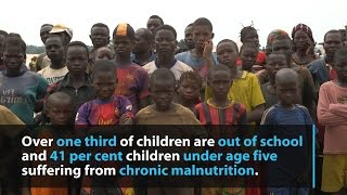 Central African Republic: One in five children is a refugee or internally displaced