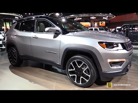 2018 Jeep Compass Limited – Exterior and Interior Walkaround – 2017 Detroit Auto Show