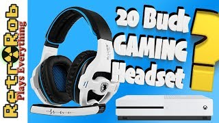 SADES SA810 Budget Gaming Headset for XBox One/PS4 and PC Unboxing and Review
