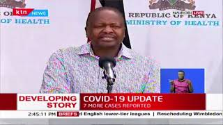 CS Mutahi Kagwe\'s address on the status of COVID-19 in Kenya | Full