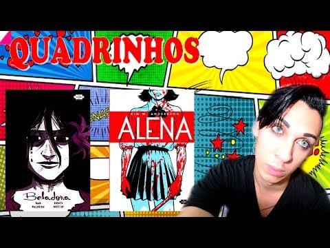 HQs, Quadrinhos e Mangás - ALENA de Kim W. Andersson & BELADONA de Ana Recalde e Denis Mello