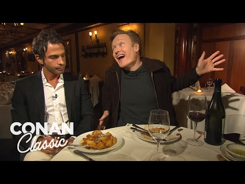 Conan's Dinner With Jordan Part 1 - Conan25: The Remotes (видео)