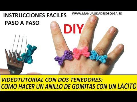 317bc72bdc34 Cómo hacer un anillo de gomitas con dos tenedores – Minibu