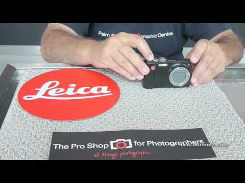Leica V-Lux 20 unboxing