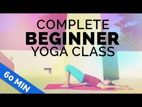 Beginner Yoga: Complete Beginner 60-min Yoga Class – Start Yoga w/ Me