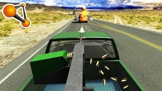 Technical Machine Gun Epic Crash Testing - BeamNG Drive