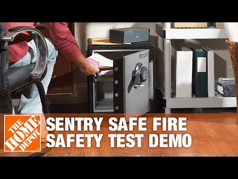 Sentry Safe Fire Safety Test Demo