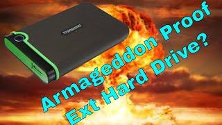 Armageddon Proof External Hard Drive! Transcend StoreJet 25M3