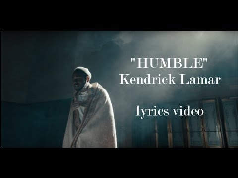 Kendrick Lamar - HUMBLE. Lyrics