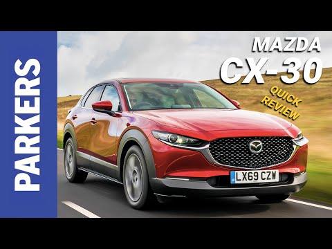 Mazda CX-30 SUV Review Video