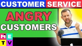 How To Handle Angry Customers In English