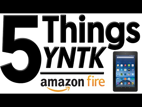 Amazon Fire: The World's Cheapest Tablet - 5 Things You Need to Know