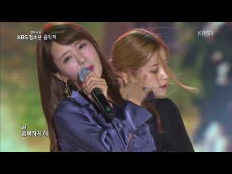 [161030] APINK - ONLY ONE @ KBS1 Youth Concert [1080P]