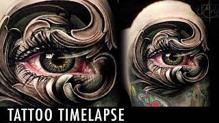 Tattoo Timelapse - Arlo DiCristina