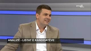 Analizë - Listat e kandidatëve 12.09.2019